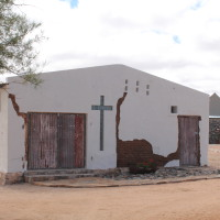 Getting married in Namibia in our delightful chapel